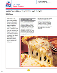 american pizza traditions