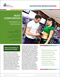 whey proteins and body composition