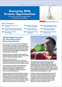 milk protein opportunities