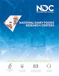 dairy foods research centers