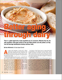 better aging through dairy