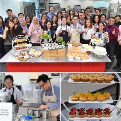 People at the Cream Cheese Workshop in Singapore