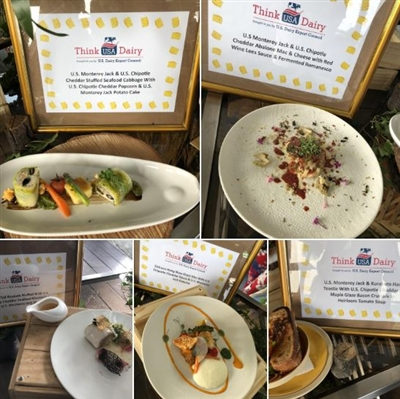 Chef challenge dishes