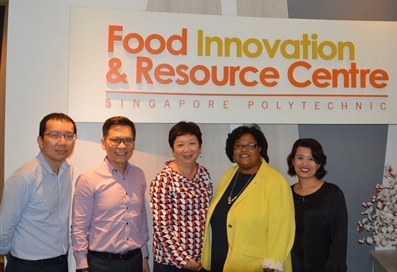 USDEC representatives at the Food Innovation and Resource Centre.