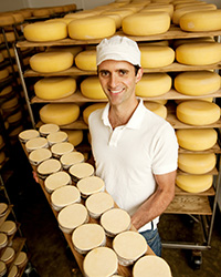 Uplands Cheese Cheesemaker