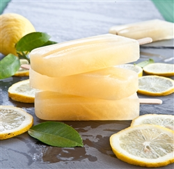 Lemon Ginger Protein Ice Pop