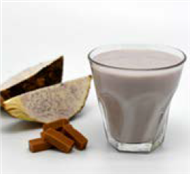Taro and Caramel High Protein Dessert