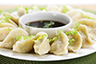 VeggieMoo Dumpling with Reduced Sodium Sauce