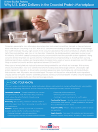 dairy protein technical report cover