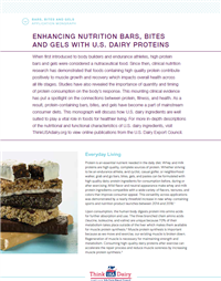 nutrition bars with U.S. dairy protein