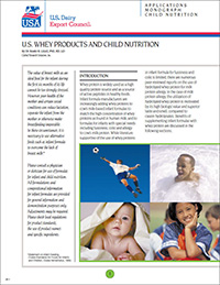 whey and child nutrition