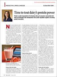 dairy protein's power