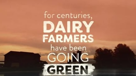 dairy farmers going green text